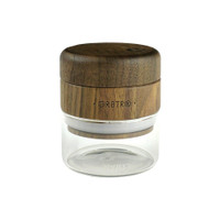 RYOT Walnut Wood Top GR8TR Grinder w/ Glass Jar Body - 2.5""